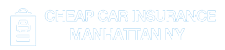 Logo - Cheap Car Insurance Manhattan NY